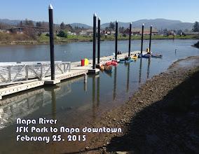 Photo: Napa's downtown dock