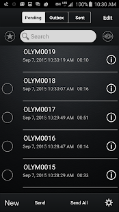 Olympus Dictation for Android- screenshot thumbnail