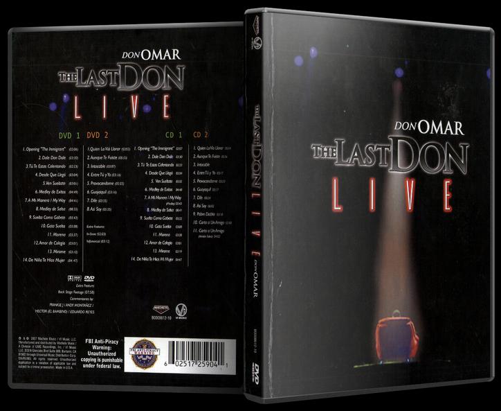 Don Omar - The Last Don Live (2004) [MP3 @320 Kbps]