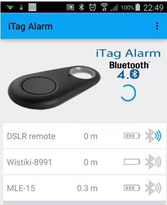 JG iTag Alarm 6.9 screenshots 1