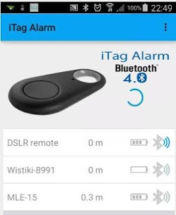JG iTag Alarm- screenshot thumbnail