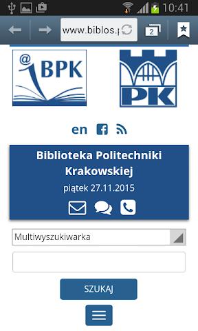 android Politechnika Krakowska Screenshot 20