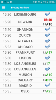 Flight Departures