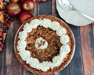 New Hampshire Maple Apple Pecan Pie