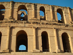 Photo: El - Jam amfiteatr. Robił wrazenie. Był najwiekszym, najwyższym miejscem okolicy.