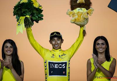 """Tourwinnaar Bernal over loodzware concurrentie binnen eigen team: """"De Giro is ook een hele mooie ronde"""""""