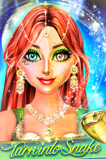 Snake Girl Salon - Naagin Magical Adventure Game filehippodl screenshot 2