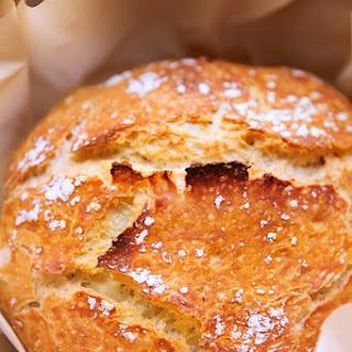 No-Knead Artisan Style Dutch Oven Bread.