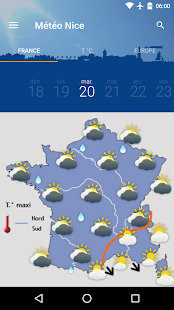Météo Nice- screenshot thumbnail