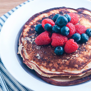 Low Carb Protein Pancakes.