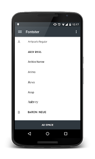 Fontster (Root) screenshots 2
