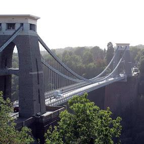 Clifton Suspension Bridge by Ashley Rolland - Buildings & Architecture Bridges & Suspended Structures ( suspension bridge, transportation, bridge, engineering, structures,  )