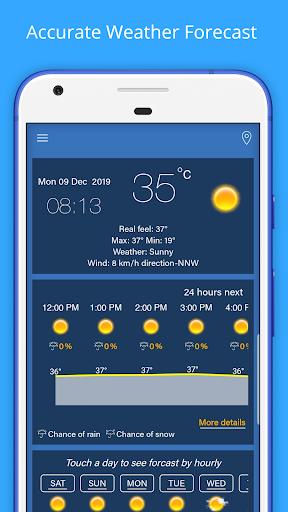 Weather Forecast - Weather Radar & Weather Widget screenshot 1