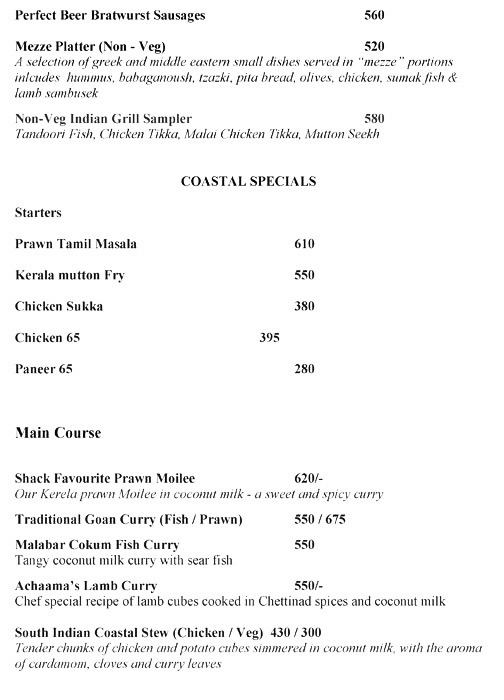 Moets Shack menu 4