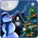 Christmas Moon Live Wallpaper icon