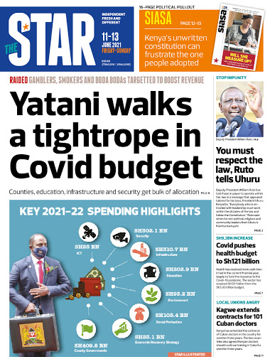 The News Brief: Yatani walks tight rope with Covid Budget