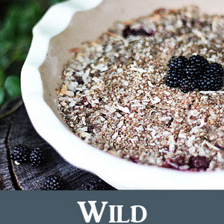 Wild Blackberry Crumble