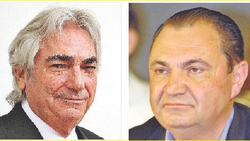 Manuel Lao y Antonio Cantón, empresarios almerienses.