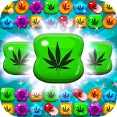 Weed Match 3 Candy Jewel - Crush cool puzzle games icon