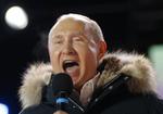普京得票逾七成連任 稱「無計劃修憲」
