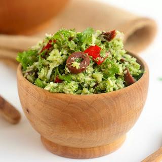 Italian Broccoli Salad [Vegan]