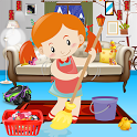 House Clean Up Decoration Game icon