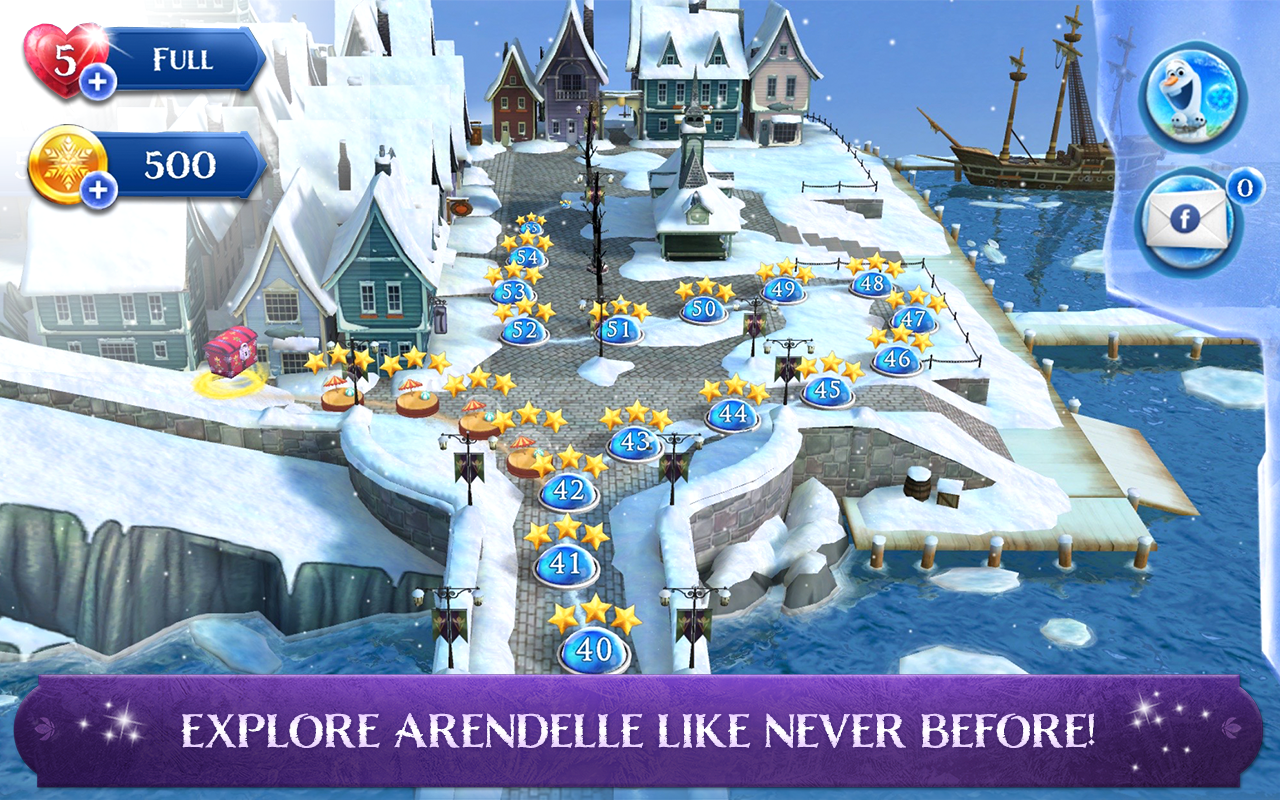 Frozen Free Fall: Icy Shot- screenshot