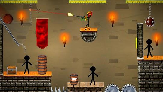 Stickman Shooting: Free offline 2D shooting games 4