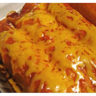Vegetarian Enchilada.