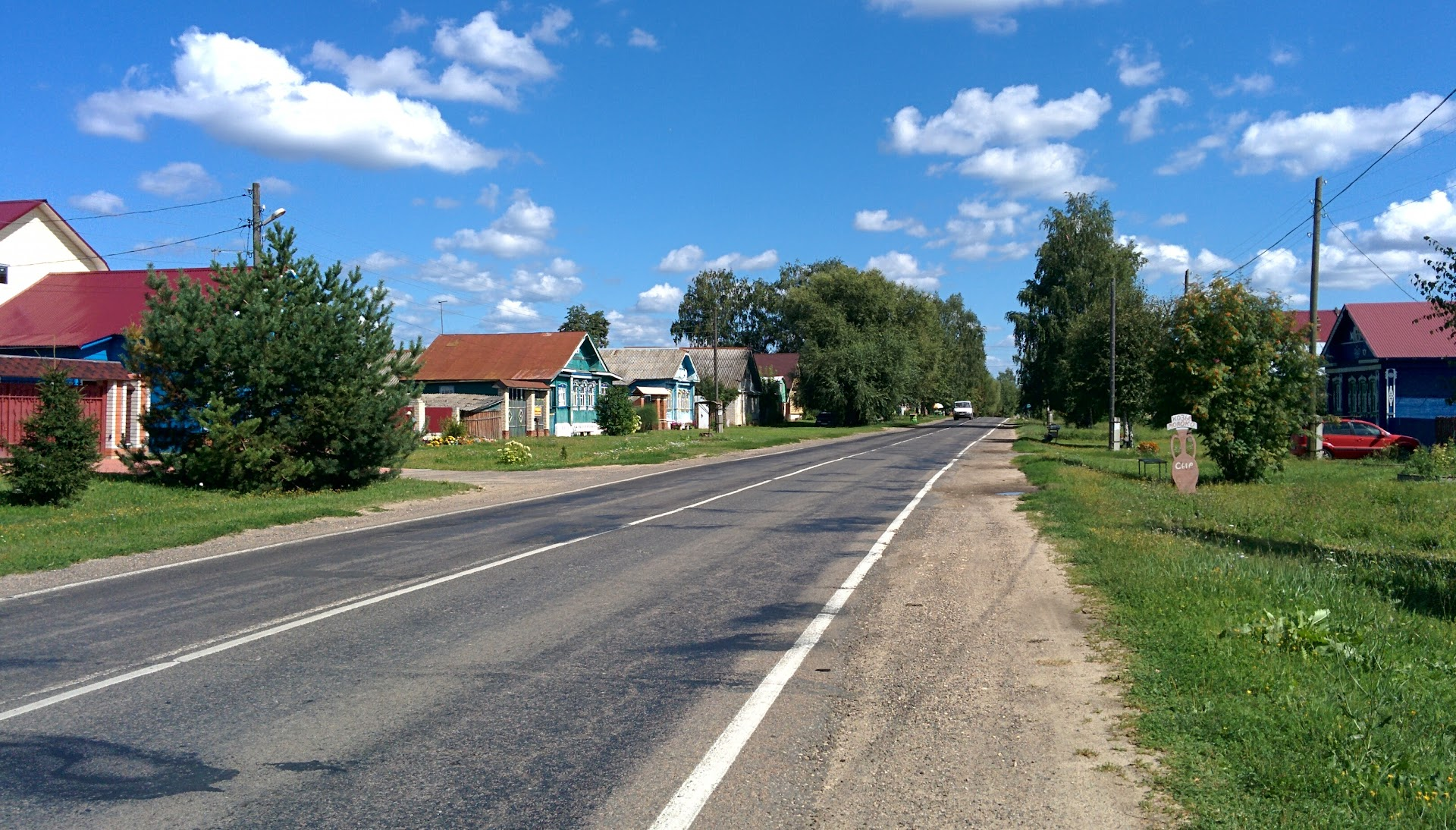 The road from Suzdal to Kideksha