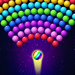 Bubble Shooter Roller Skating Icon