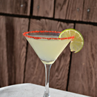 Cherry Lime Martini