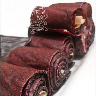 Blueberry Leather Fruit Roll-Ups