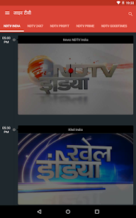 NDTV India Hindi news- screenshot thumbnail