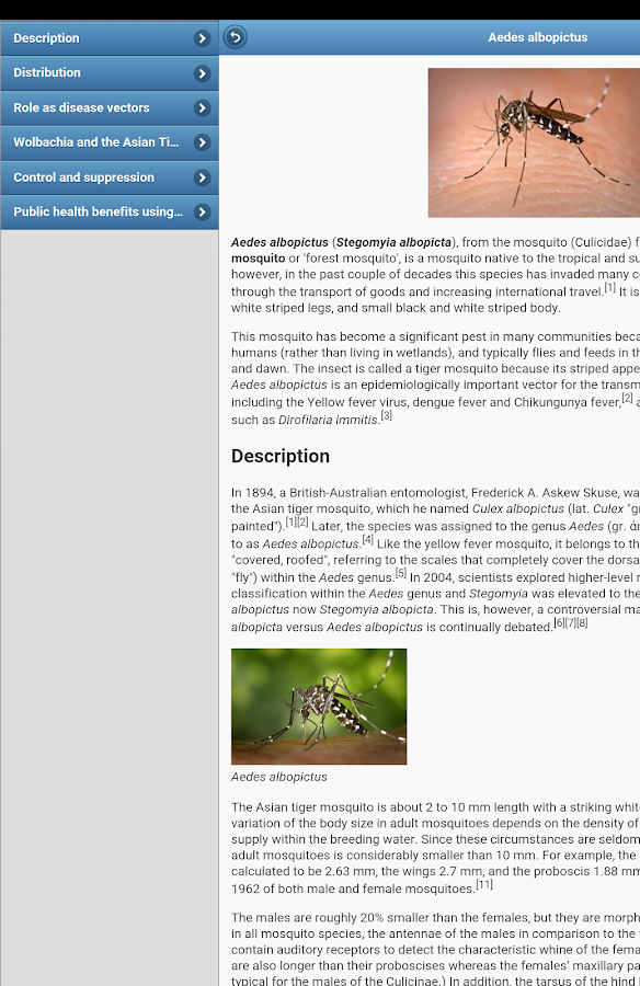 Insect pests- screenshot