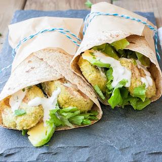 Easy Vegan Gluten Free Falafel with Tahini Sauce