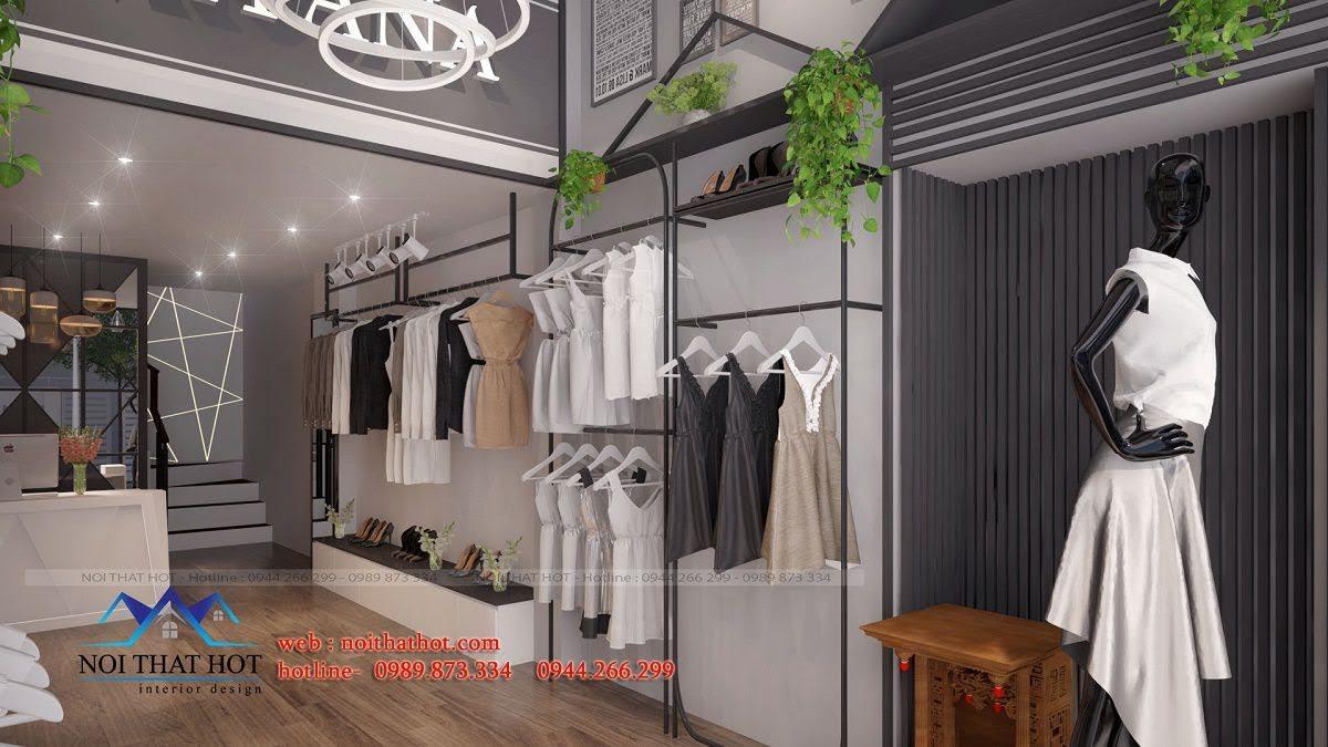 thiết kế shop thời trang nữ mitana 3