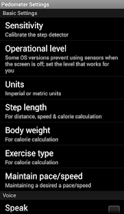 Pedometer Calories Map WalkLog- screenshot thumbnail