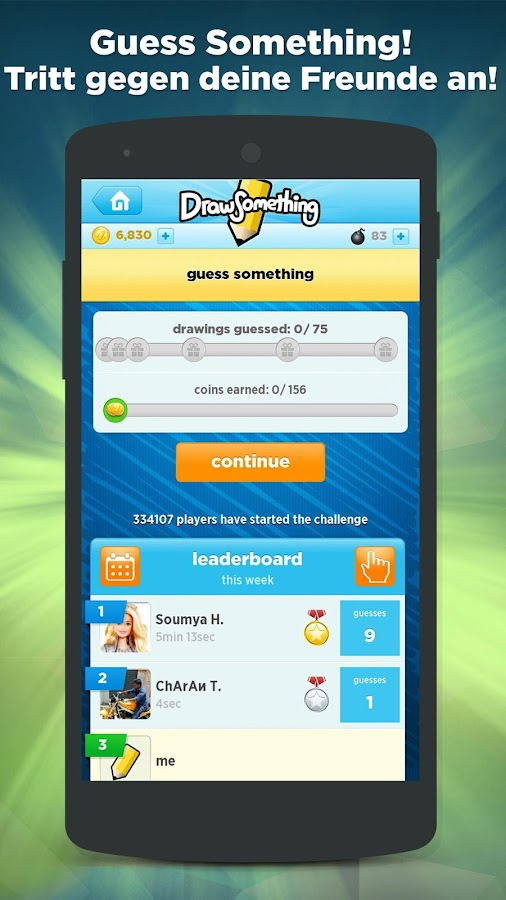 Draw Something by OMGPOP – Screenshot