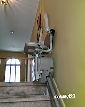Photo: Bruno Elan Stairlift | Mobility123 NJ