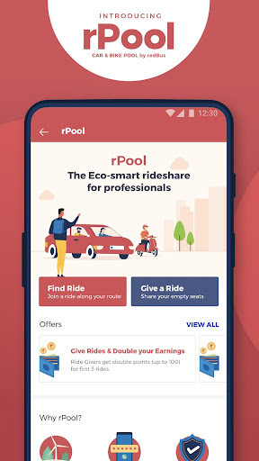 redBus - rPool Online Bus Ticket Booking App India screenshot 6