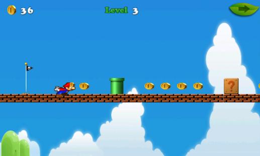 Download Mario run : classic adventure For PC Windows and Mac apk screenshot 1