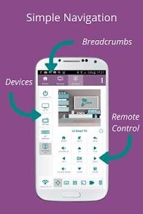 6 SURE Universal Remote App screenshot