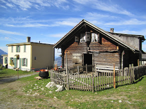 Photo: Train Station and Barn at 1600 meters