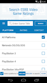 Video Game Ratings by ESRB Screenshot 2