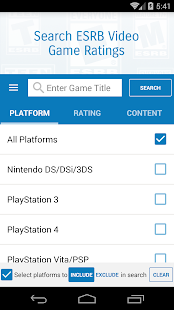 Video Game Ratings by ESRB- screenshot thumbnail