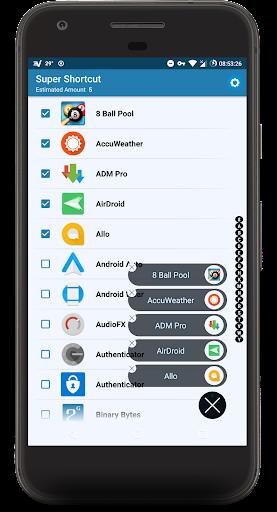 Super Shortcut ᴾᴿᴼ app for Android screenshot