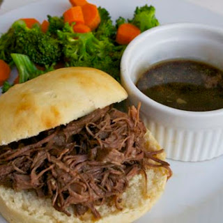 Slow Cooker French Dip Filling- GFDF Lunch Version