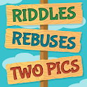 Riddles, Rebus Puzzles and Two Pics icon