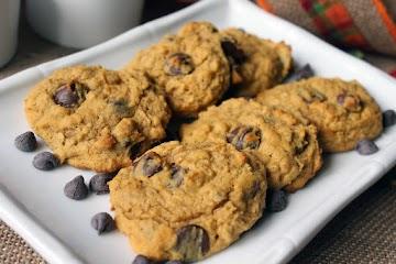 Pumpkin Oatmeal Chocolate Chip Cookies Recipe